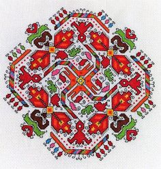EMBROIDERY PATTERNS Vol. 1 - Bulgarian Edition © from Bulgaria ISSN: 01 Content: 32 p. 20 embroidery patterns 8 traditional shirt designs Stitches in the Bulgarian embroidery Thracian roots and heritage Embroidery Online, Couture Embroidery, Folk Embroidery, Modern Embroidery, Cross Stitch Embroidery, Embroidery Patterns, Cross Stitch Designs, Cross Stitch Patterns, Blackwork