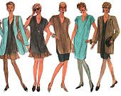 Vogue Sewing Pattern 2885 Misses'/Misses' Petite Jacket, Dress, Top, Skirt, Shorts