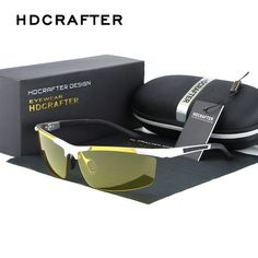 57.74$  Buy now - http://ali22z.worldwells.pw/go.php?t=32688933712 - New Brand Aluminum Magnesium Alloy Frame Polarized Sunglasses Men's Driver Sunglass Mirror Outdoor Sports Glasses 57.74$