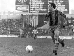 Johan Cruyff, temporada de fútbol 76-77.