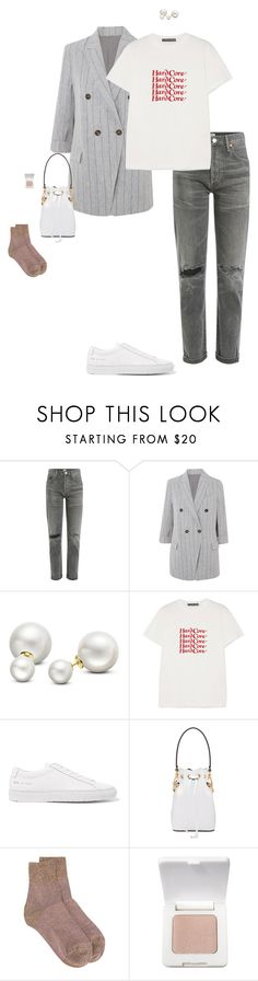 """""""Untitled #1281"""" by violet ❤ liked on Polyvore featuring Citizens of Humanity, Brunello Cucinelli, Allurez, AlexaChung, Common Projects, Fendi, Missoni and rms beauty"""