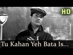 Tu Kahan Yeh Bata - Dev Anand - Nutun - Tere Ghar Ke Samne - Old Hindi Songs - S.D. Burman - YouTube Hindi Old Songs, Film Song, Indian Music, Bollywood Songs, Hit Songs, Sound Of Music, Movies To Watch, Music Videos, Cinema