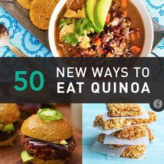 New Ways to Eat Quinoa — Your favorite protein-rich grain gets a makeover with these healthy and delicious recipes. #healthy #quinoa #recipes #greatist