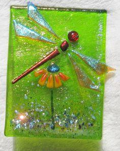 Handcrafted+glass+nightlight+Oneofakind+by+FusedGlassbyDana,+$65.00