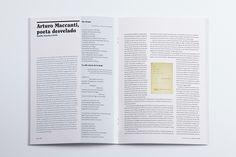Diseño editorial. Revista Letras Canarias 2015 #sergiohp #revista #diseñoeditorial www.sergiohp.com