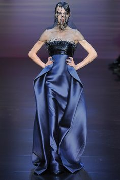 Paris Haute Couture: Armani Privé Fall 2012-13 Collection