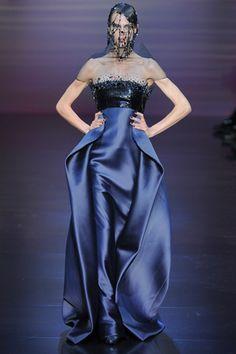 Paris Haute Couture: Armani Privé Fall 2012-13 Collection