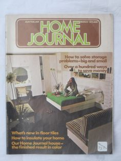 Vintage home journal magazines for sale on my Etsy shop now! www.etsy.com/shop/MandysMuses