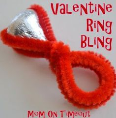 What a cute and easy valentine for kids to make for their classroom valentine day exchange.