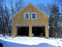 specializing in elegant and artistic barns using a modified post and beam structure and timber frame Barn Builders, Beam Structure, Post And Beam, Modern Barn, Massachusetts, Barns, Shed, Commercial, Outdoor Structures