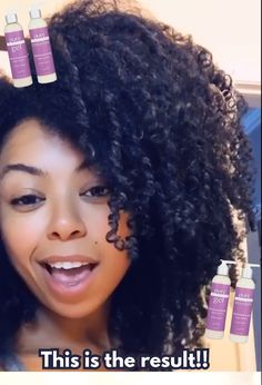 CurlMix - Type 3 and 4 - Lavender Natural Curls, Natural Hair Care, Natural Hair Styles, Pelo Afro, Curly Hair Tips, Moisturize Hair, Curled Hairstyles, Quiff Hairstyles, Hair Type