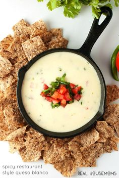 Spicy Restaurant Style Queso Blanco and The Greatest Mexican Food Recipes Ever!