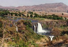 Beautiful scenery in Ethiopia