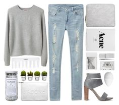 """""""Who knows which way the wind will blow."""" by klajus ❤ liked on Polyvore featuring Conair, Organic by John Patrick, 3.1 Phillip Lim, Tweezerman, Polaroid, Splendid, Miss Selfridge, Billabong, Herbivore and H&M"""