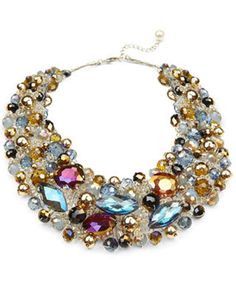 This bead-encrusted statement necklace is sure to become her holiday-season staple, elevating everything from simple sweaters to after-dark attire.   Aldo Arvan necklace, $35 atat Aldo and Aldo Accessories stores, aldo.com.