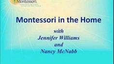 Webinar Replay - Montessori in the Home. Jennifer Williams, Founder of Heartmanity Nancy McNabb, Head of School, Middle Creek Montessori