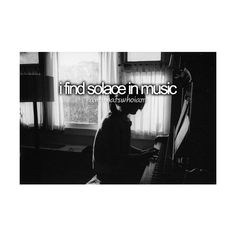 and that's who I am. ❤ liked on Polyvore. I LIVE n LOVE Music<3