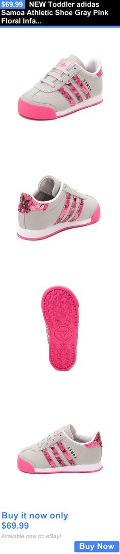 premium selection 34e06 bc690 Infant Shoes  New Toddler Adidas Samoa Athletic Shoe Gray Pink Floral  Infant Girl Shoe BUY