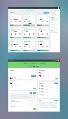 Flat design, style, layout, colors #dashboard #ux #ui