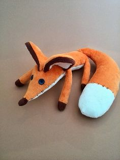 Fox plush toy Little Prince Gift for children by HandmadeToyStore