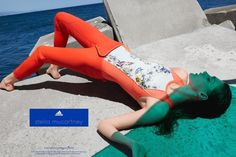 The Essentialist - Fashion Advertising Updated Daily: Adidas by Stella McCartney Ad Campaign Spring/Summ. Fashion Advertising, Advertising Campaign, Viviane Sassen, Sport Chic, Stella Mccartney Adidas, Editorial Photography, Color Trends, Fitness Inspiration, Wetsuit
