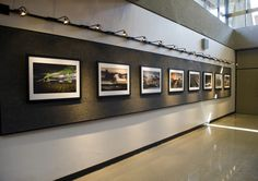 Fourteen images in all, on two walls of the gallery. The Camerawork Gallery was established in 1969 by Minor White and is the oldest continuously operating photography gallery in the west. Restaurant Interior Design, Office Interior Design, Office Interiors, Interior Decorating, Industrial Office Design, Living Room Tv Unit Designs, Commercial Design, Frames On Wall, Wooden Garages