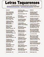 CAMINHODASLETRASe_BOOKS: LETRAS TAQUARENSES Nº 59 SETEMBRO 2014 * EDITOR: A...