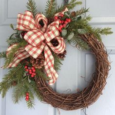Best Country Christmas Wreaths Products on Wanelo