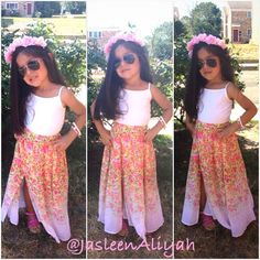 Cute summer fashion for little girls