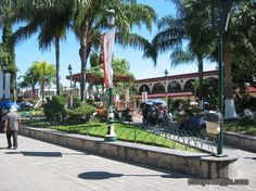 One of the Plazas in Chapala, Mexico. I've been here.