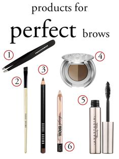 How to Get Perfect Eyebrows Every Time - I swear by the Anastasia Brow Gel. It's the holy grail of the eyebrow world.