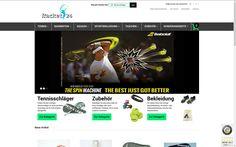 Tennisshop mit Magento - Racket24.de - http://www.storetown-media.de/project/magento_tennisshop/