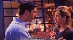 ross and rachel ♥ ♥ ♥ he's her lobster. Friends Tv Show, Tv: Friends, Serie Friends, Friends Cast, Friends Moments, Chandler Friends, Friends Scenes, Friends Forever, Chandler Bing