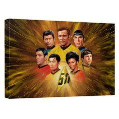 Star Trek The Original Series Crew Anniversary Sublimated Throw Blanket, Yellow Star Trek 50th Anniversary, Star Trek Crew, Microfiber Bath Towels, Fleece Throw, Novelty Gifts, State Art, Beach Towel, Favorite Tv Shows, Pouch