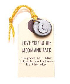 Kutuu bedel - love you to the moon and back - Kekootje.nl