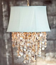 Coastal Cottage Chandelier | Shells + Chandelier = Coastal Cool