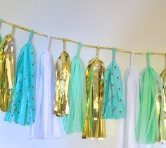 Dots for Days Aqua Loves Mint Sparkle & Shine by EverlyLaneDesign, $49.00