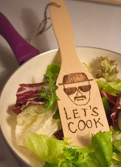 Let's Cook. kitchen spatula Heisenberg Breaking Bad by Cool Kitchen Gadgets, Kitchen Items, Cool Gadgets, Cool Kitchens, Kitchen Stuff, Awesome Kitchen, Kitchen Utensils, Breaking Bad, Kitchen Spatula