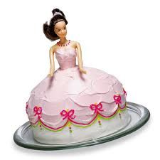 Kyla is obsessed with princesses and has been talking nonstop about a princess cake so this is my project for her b-day <3