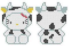 patrones de kitty a punto de cruz - Google Search