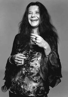 Janis Joplin Black and white Photo shoot
