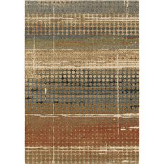 Houston Plush Distressed Beige 7 ft. 10 in. x 10 ft. 10 in. Area Rug