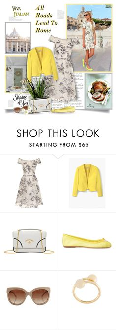 """All Roads Lead To Rome"" by thewondersoffashion ❤ liked on Polyvore featuring Chi Chi, MANGO, Vivienne Westwood, ANNA BAIGUERA, STELLA McCARTNEY and J.W. Anderson"