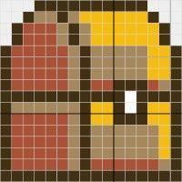 Mario Chest - Stitch Fiddle
