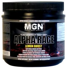 Alpha Rage - 1lbs - pre workout supplement