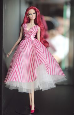 https://flic.kr/p/QCfy4s   vanessa - outfit by Rimdoll   www.etsy.com/listing/488268058/pink-dress-for-fashion-roy...