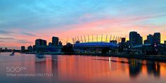 Sunset in Vancouver by taekisphotos. Please Like http://fb.me/go4photos and Follow @go4fotos Thank You. :-)