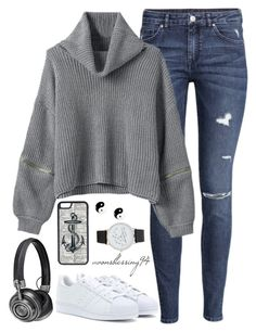 """""""Casual Autumn Days"""" by avonsblessing94 ❤ liked on Polyvore featuring H&M, adidas, Master & Dynamic, CellPowerCases, claire's and ALDO"""