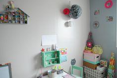 Déco, chambre d'enfant- http://www.babayaga-magazine.com/la-chambre-de-pauline/