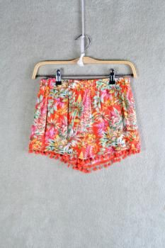 Coral Floral Shorts : Swoon Boutique